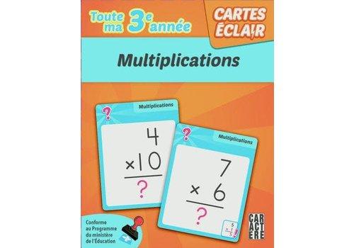 3e année - multiplication