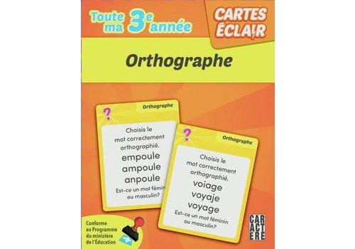 3e année - orthographe