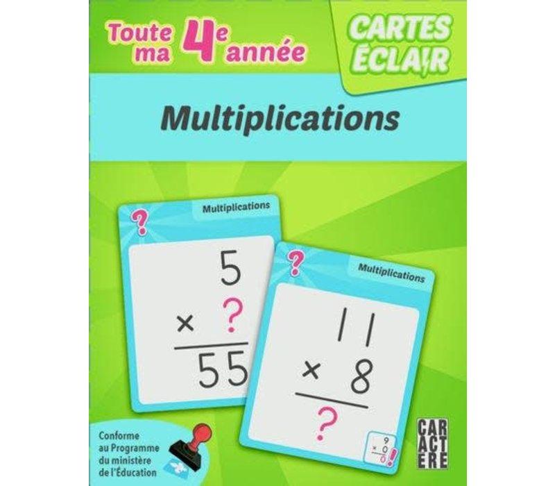 4e année multiplications