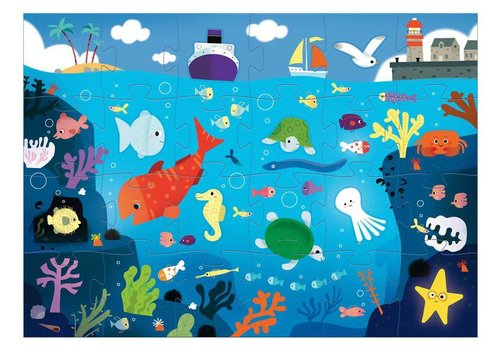 Djeco Giant Puzzle Under the sea
