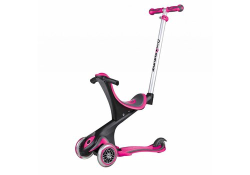 Globber Globber Evo Comfort with Lights - pink