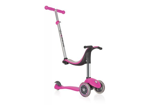 Globber Globber EVO 4 in 1 Plus Pink