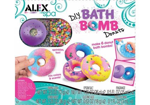 Alex DIY BATH BOMB DONUTS