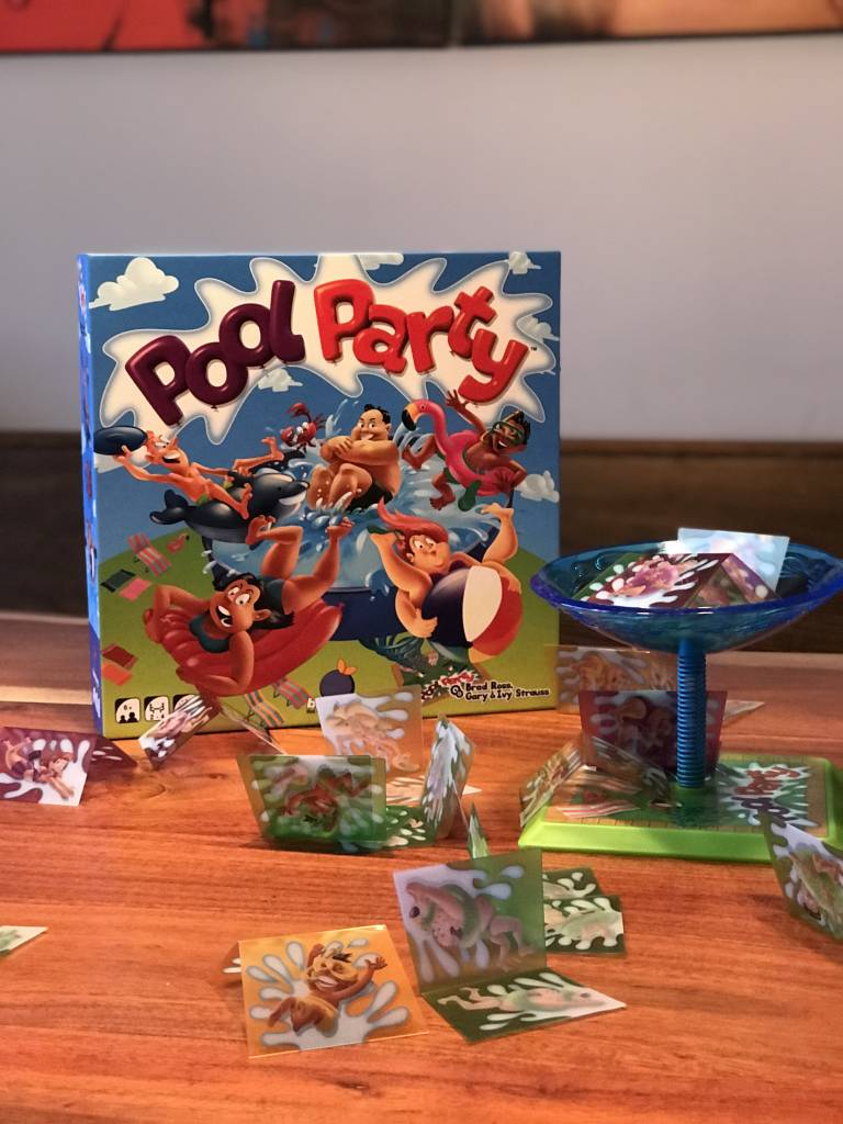 On découvre le jeu  Pool Party