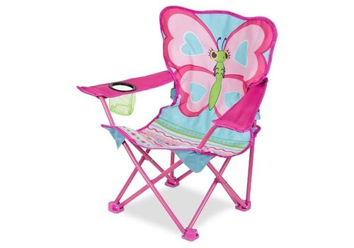 Melissa & Doug Chaise papillon - Cutie Pie Butterfly Chair
