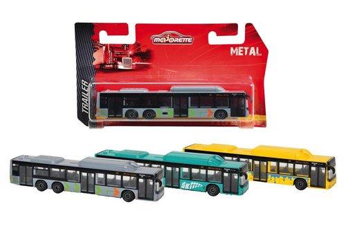 Majorette autobus de ville assorties