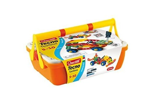 Quercetti TEChNO TOOLBOX 128PCS