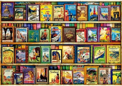 Casse-tête 1000 pièces Voyages autour du monde