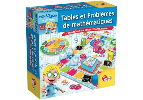 Lisciani (Giochi) I'm a genius Tables et problèmes de mathématiques français