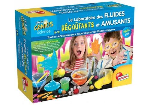 Lisciani (Giochi) I'm a genius Laboratoire des fluides dégoutants et amusant