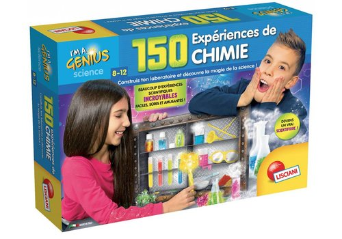 Lisciani (Giochi) I'm a genius 150 expériences de chimie