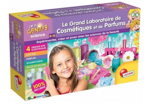 Lisciani (Giochi) I'm a genius Le grand laboratoire de cosmétiques et parfums