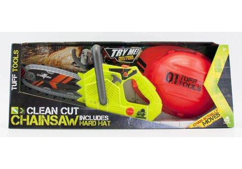 Tuff Tools Scie à chaîne et casque