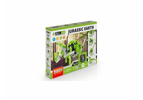 Engino Stem Jurassic Earth modèles motorisés