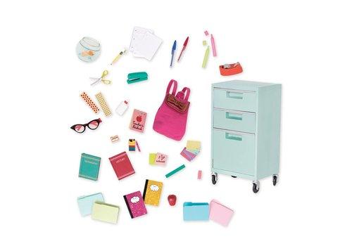 Our generation Ensemble d'accessoires dlx School Supplies
