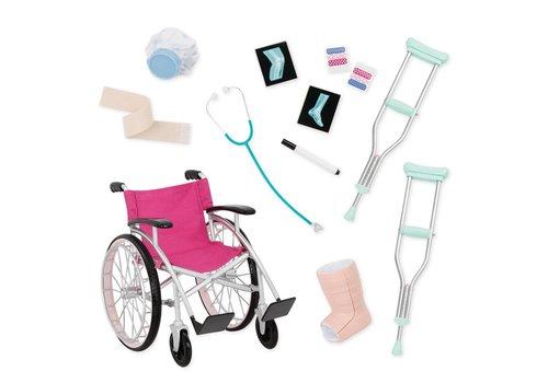 Our generation Ensemble d'accessoires de luxe Heals on Wheels