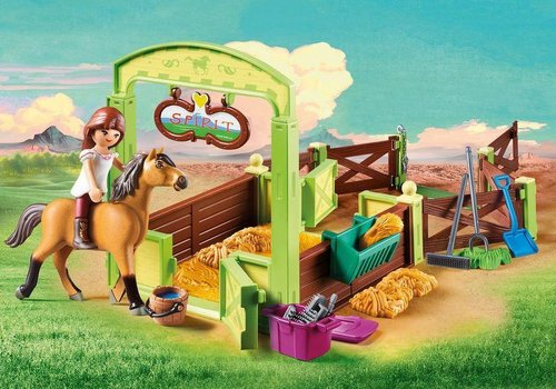 Playmobil Lucky et Spirit avec box