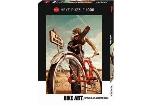 1000 mcx, Music Ride, Bike art