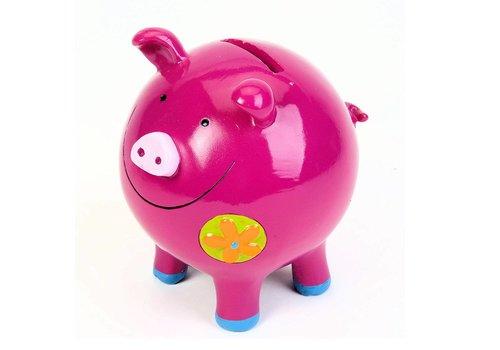 Pink piggy bank 5''