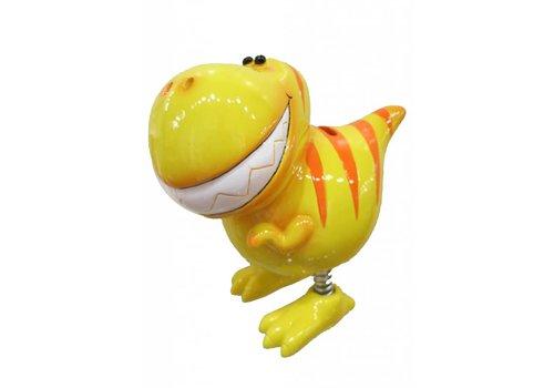 Yellow Dinosaur Money Box