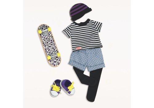 Our generation Ensemble de skate pour poupée 46 cm