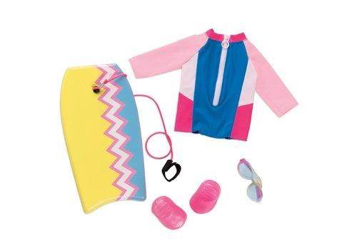 Our generation Ensemble et planche Fashion Wave pour poupée OG de 46 cm