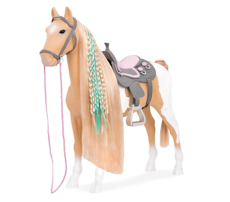 Cheval From Hair to There Palomino Paint Horse