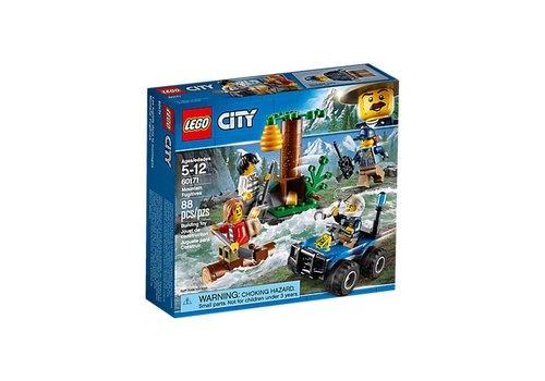 Lego Les fugitifs dans la montagne