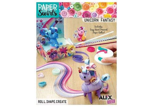 Alex Paper Swirl Licorne Féérique