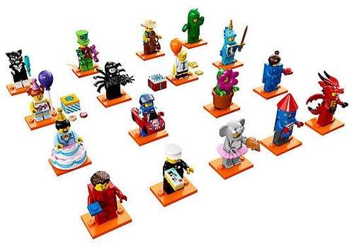 Lego Lego Minifigures série 18 la fête