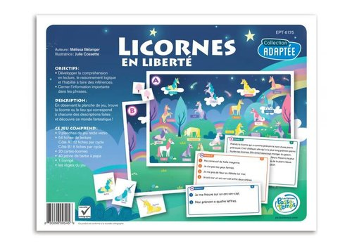 Licornes en liberté