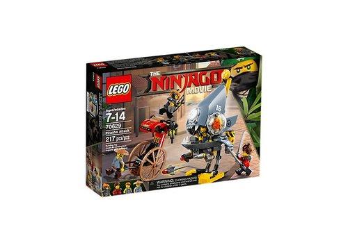 Lego Ninjago l'attaque des Piranhas