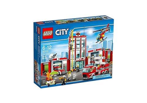 Lego City-Caserne de pompier