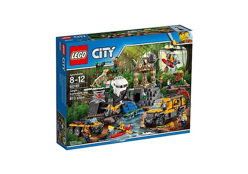 Lego City Le site d'exploration de la jungle