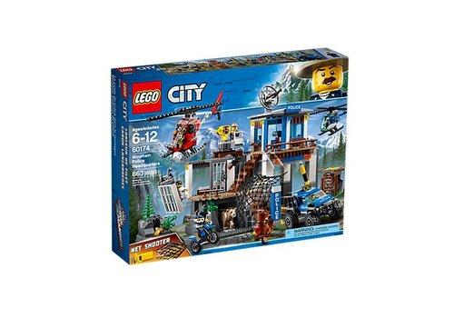 Lego City Poste de police dans la montagne