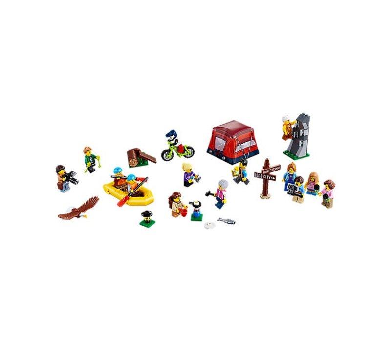 """City Ensemble de figurines """""""" Aventures en plein air"""