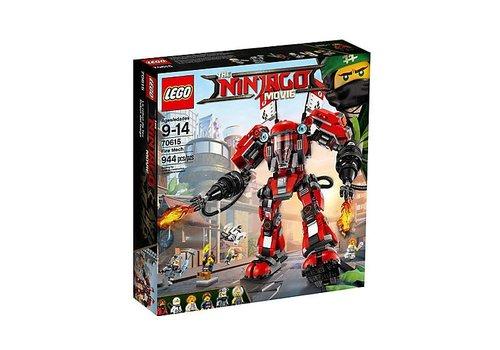 Lego Ninjago Le robot de feu