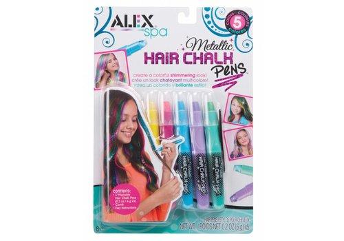 Alex SPA Crayons métalliques pour cheveux