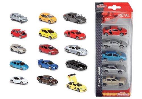 Majorette Ensemble 5 voitures assorties