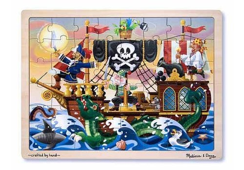 Melissa & Doug Pirate Adventure Jigsaw 48pcs