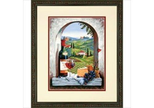 Vue de la Toscane 11x4