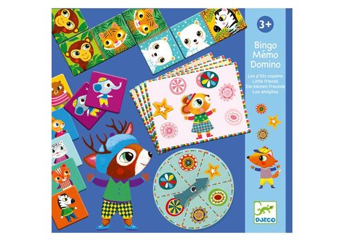 Djeco Bingo-Mémo-Domino