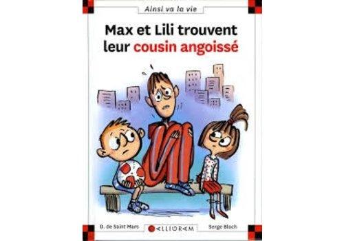 Calligram Max et Lili trouvent leur cousin angoissé