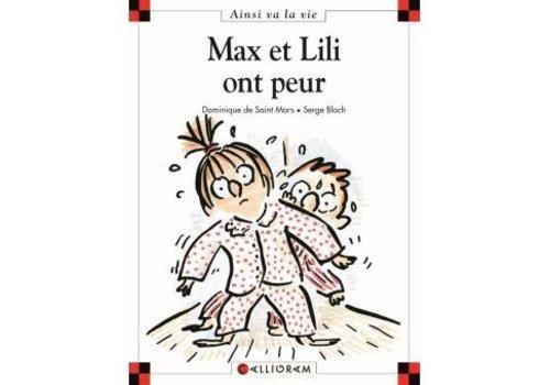 Calligram Max et Lili ont peur