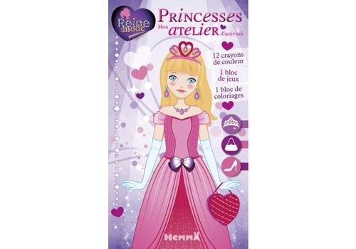 Hemma Mon atelier d'activités princesses