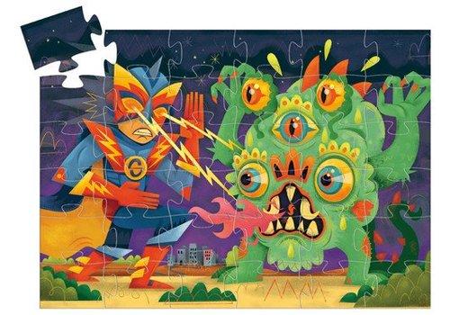 Djeco Puzzle silhouette / Laser Boy / 36 morceaux