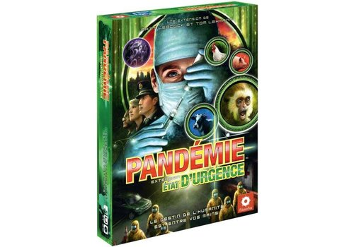 z-man games Pandémie: état d'urgence