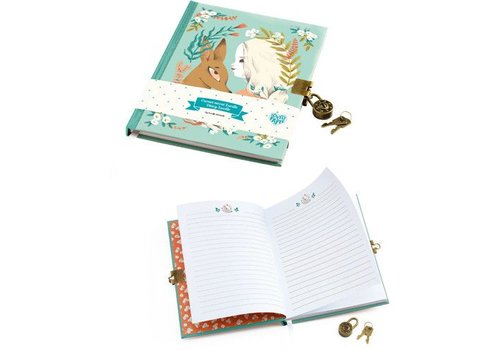 Lovely Paper Carnet secret / Lucille