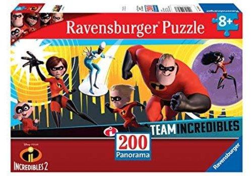 Ravensburger Les incroyables 2 - 200pc panoramique