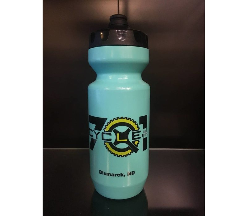 PURIST 22oz Epic/ 701 Cycle Turquois Water Bottle